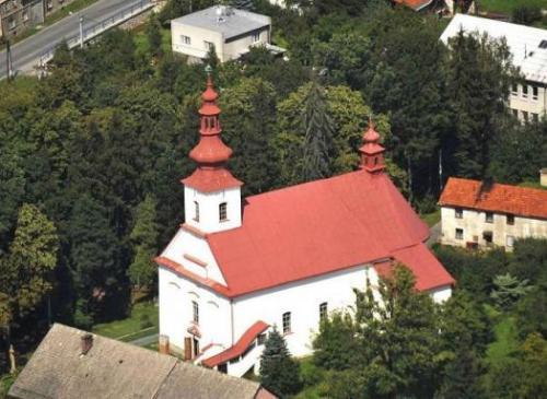 Kostel sv. Petra a Pavla ve Vražném